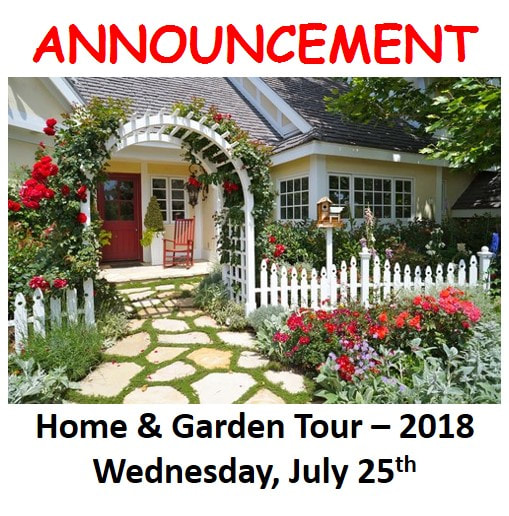 Put In Bay Garden Club Welcome